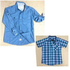 2-for-1 Shirts Paper Denim & Cloth, Hurley - 4